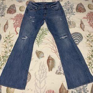American Eagle Artist Stretch flare leg jeans sz10